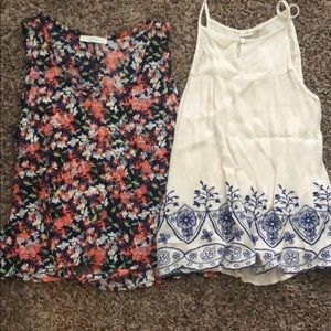 Two tank tops for sale!